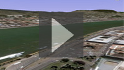 Import terrain and coordinate information from Google Earth